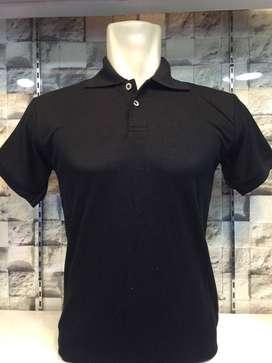 Kaos polo hitam murah