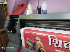 Flex print machine ( colourjet)