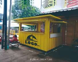 Booth / Stan container untuk usaha