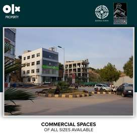 Bahria Town Phase 7 Rawalpindi, 1400 Sq Ft 1st Floor Commercial Hall.