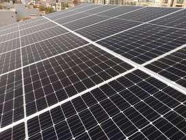 3kw inverter 4 x 330w Solar panels with all fitting and accessories