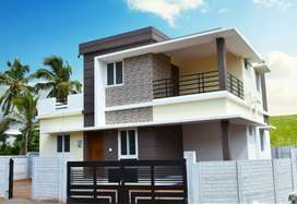 1230qft-4 Cent land- Duplex villas for sale in Palakkad