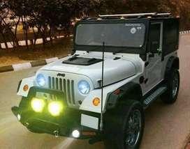 Modified thar jeep