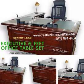 Office 6ft Table Set latesttrends Chair Furniture Sofa Dining Center