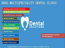 NEDS Dental Clinic Senior Dental Surgeon MDS-Chhaygaon-Guwahati