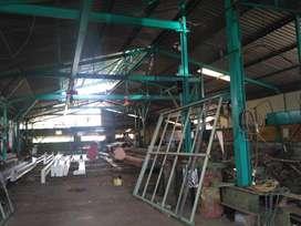 Dijual gudang, jl raya Semarang Solo, Ungaran, View Gunung