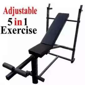 5in1 gym bench press