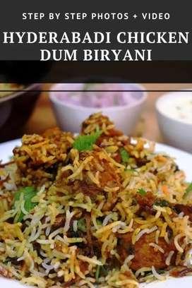 Biryani cook wanted...