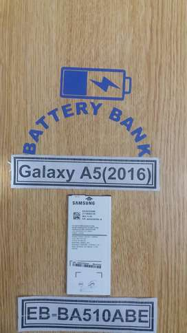 Samsung Galaxy A5 (2016) EB-BA510ABE Battery Batteri Battary Bettri