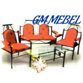 GM MEBEL. Kursi Teras Rangka Besi