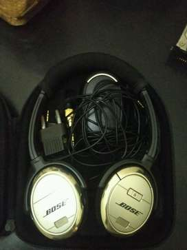 Headphone BOSE Quite Comfort 3 mulus, bisa barter hp, laptop, no tt