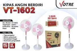 kipas angin berdiri/ stand fan 16inc votre SF 1602 (jantung acc)