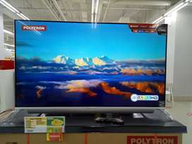 Led tv polytron 55inch smart tv