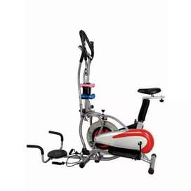 sepeda statis kardio fitnes I-335 // treadmill magnetik bike orbitrek