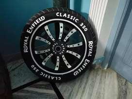 Tyre graphics