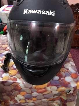 Helm Kawasaki Warna Hitam