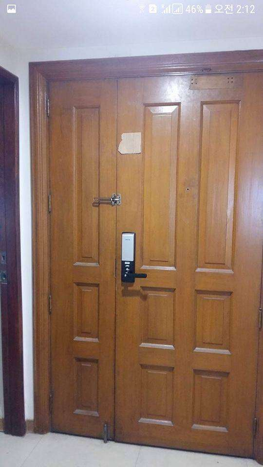Access control door lock security system and time attendance 0