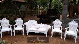 Kursi pengantin | sofa dekorasi pernikahan