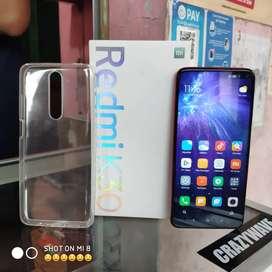 Redmi K20 ram 8 Internal 128 5G, NFC, baterai 4500 CASH TT bisa