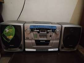Philips tape recorder working condition with fm and casettes