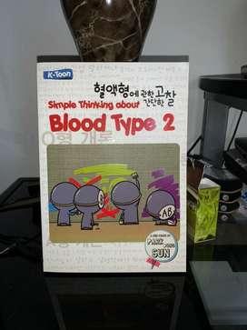 Buku komik Simple thinking about Blood Type