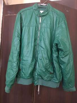 Allen solly leather jacket