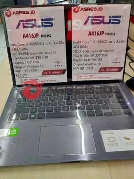 Jual Asus Vivobook A416JP cocok buat design| Nvidia MX330| RAM 4| W10