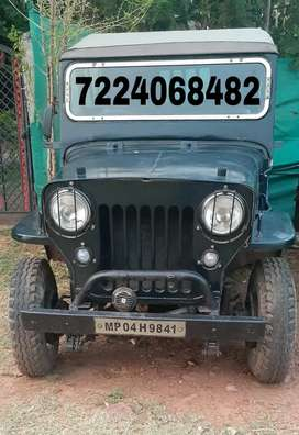 Mahindra Jeep 1972 Diesel Well Maintained