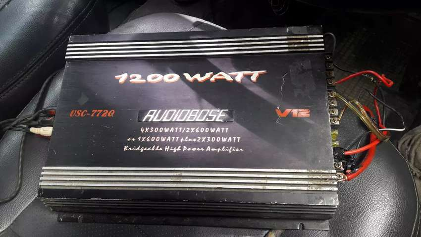 Dijual Power dan sound Merk AUDIOBOSE 0