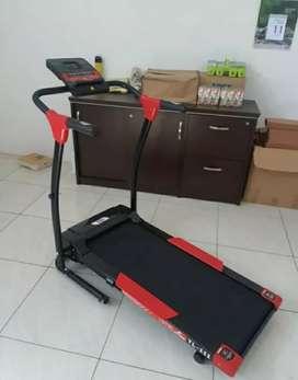 Alat fitnes treadmill elektrik 1 fungsi type tl 111 terlaris