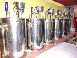 boiler setrika uap baru