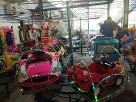 ERV mainan usaha odong kereta mini panggung kekinian pancingan
