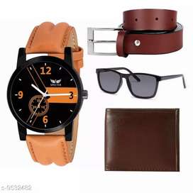 Mens stylish watch combo with free delivery and cash on delivery india