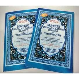 Jual Meteri Hafalan Santri TKA-TPA & Terjemahan di Makassar