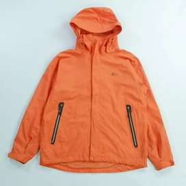 Lecaf with goretex jacket outdoor