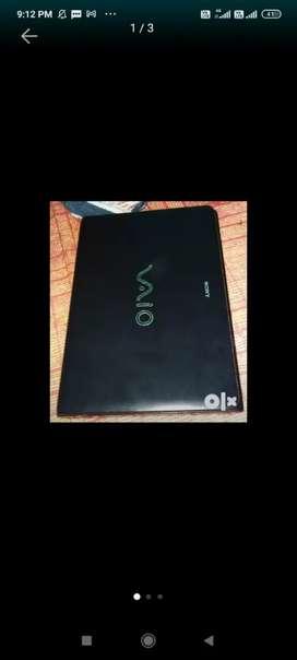 Sony laptop  cor i3 ram 4  gb hdd 320 gb