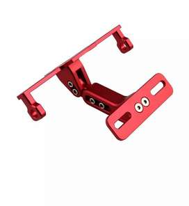 Bike CNC adjustable angle licence number plate frame Holder tail tidy