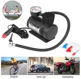 Imported 12 Volt Portable Electric Car Air Pump Compressor Car Tyre