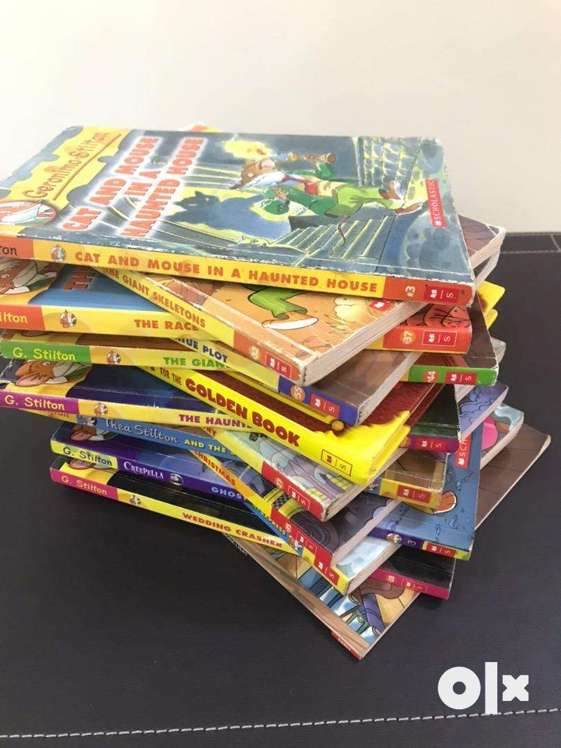 14 NEW Geronimo Stilton books 0