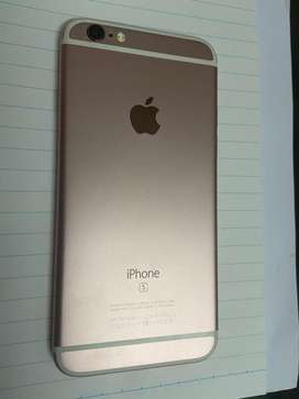 16GB Rose Gold Color Iphone 6S (Broken Screen)