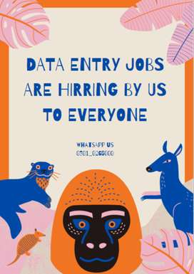 Work with Computer and Earn through Data Entry Jobs Online