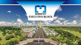 10 Marla Plot file for sale in Motorway City Executive Block.