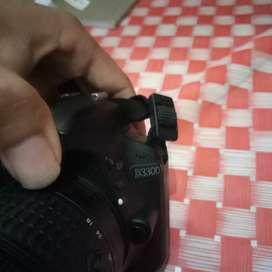 Camera Nikon D3300 Nomal Siap pakai