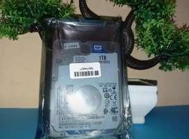 Hardisk 1TB (1000GB) minus