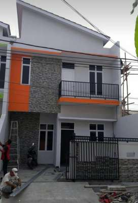 Rumah baru dibangun di harapan indah siap huni A2018