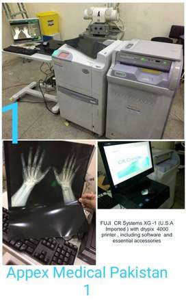 FUJI_CR Systems XG1(U.S.A Imported )+drypix 4000_Printer&Software etc