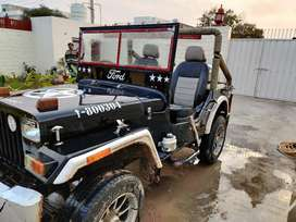 Mahindra open Jeep 1996 Diesel Good Condition