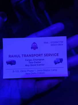 Rahul transport all services