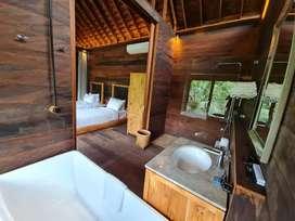 Di jual villa di dalam resort di keliki ubud