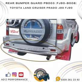 Rear Back Bumper Guard Toyota Land Cruiser Prado FJ90 FJ120